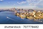 kirribilli yacht club  headland ... | Shutterstock . vector #707778682