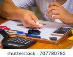 chanthaburi  thailand oct 15 ... | Shutterstock . vector #707780782