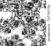 abstract elegance seamless... | Shutterstock .eps vector #707791756