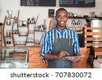 portrait of a smiling young... | Shutterstock . vector #707830072