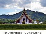 temples beautiful temples on... | Shutterstock . vector #707843548