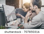 developing programming and... | Shutterstock . vector #707850316