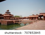 rajasthan palace | Shutterstock . vector #707852845