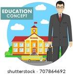 education concept. detailed...   Shutterstock .eps vector #707864692