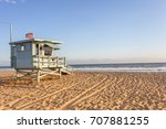 Lifeguard Cabin On Santa Monica ...