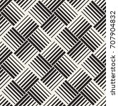 seamless pattern with lines... | Shutterstock .eps vector #707904832