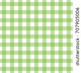 seamless gingham check print in ...   Shutterstock . vector #707905006