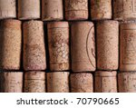 Wine corks - stock photo