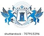 vintage award design  vintage... | Shutterstock .eps vector #707915296