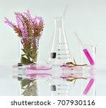 natural organic botany and... | Shutterstock . vector #707930116