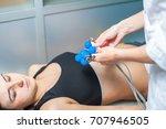 electrocardiogram  cardiac... | Shutterstock . vector #707946505