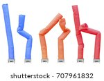 collection of fan blowing... | Shutterstock . vector #707961832
