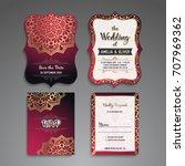 business card. vintage...   Shutterstock .eps vector #707969362