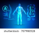 concept of healthcare... | Shutterstock .eps vector #707980528