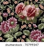 flowers. vector. beautiful...   Shutterstock .eps vector #70799347