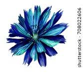 watercolor wild field colorful... | Shutterstock . vector #708022606