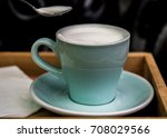 coffee in cafe  thailand  asia | Shutterstock . vector #708029566