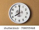 eight o'clock | Shutterstock . vector #708055468