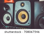 buy new hi fi speakers for... | Shutterstock . vector #708067546