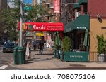 new york  ny usa august 3  2016 ... | Shutterstock . vector #708075106