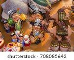 Ceramic Souvenirs In Street...