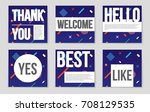 abstract vector layout... | Shutterstock .eps vector #708129535