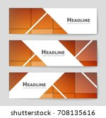 abstract vector layout... | Shutterstock .eps vector #708135616