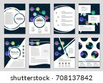 abstract vector layout... | Shutterstock .eps vector #708137842