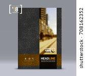 cover design  corporate... | Shutterstock .eps vector #708162352
