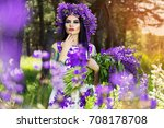 nature and tattoo fashion.... | Shutterstock . vector #708178708