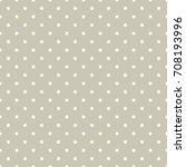 polka dots seamless pattern | Shutterstock .eps vector #708193996