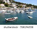 mediterranean croatian... | Shutterstock . vector #708196558