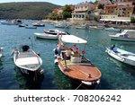 mediterranean croatian... | Shutterstock . vector #708206242