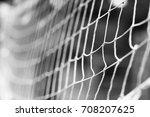 beautiful volleyball grid... | Shutterstock . vector #708207625