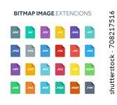 flat style icon set. bitmap...
