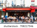 paris   august 23  2017  people ... | Shutterstock . vector #708217546