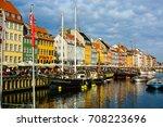copenhagen  denmark   july 27 ... | Shutterstock . vector #708223696