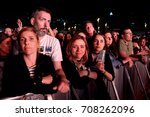 barcelona   may 30  the crowd... | Shutterstock . vector #708262096