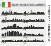 most famous republic of italy...   Shutterstock .eps vector #708268378