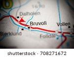 bruvoll. norway   Shutterstock . vector #708271672