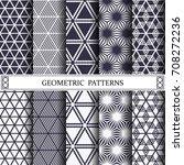 triangle geometric vector...   Shutterstock .eps vector #708272236
