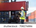 foreman control loading... | Shutterstock . vector #708276886