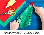 making three dimensional... | Shutterstock . vector #708279556