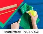 making three dimensional... | Shutterstock . vector #708279562