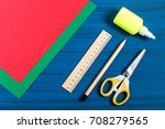 making three dimensional... | Shutterstock . vector #708279565
