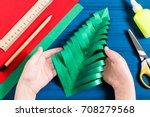 making three dimensional... | Shutterstock . vector #708279568