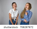portrait of beautiful smiling...   Shutterstock . vector #708287872