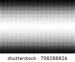 halftone fade gradient... | Shutterstock .eps vector #708288826
