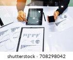 close up business man hand...   Shutterstock . vector #708298042