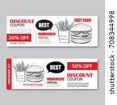 Fast Food Gift Voucher And...